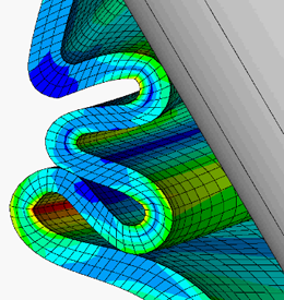 ANSYS FEA Structural Non-Linearities