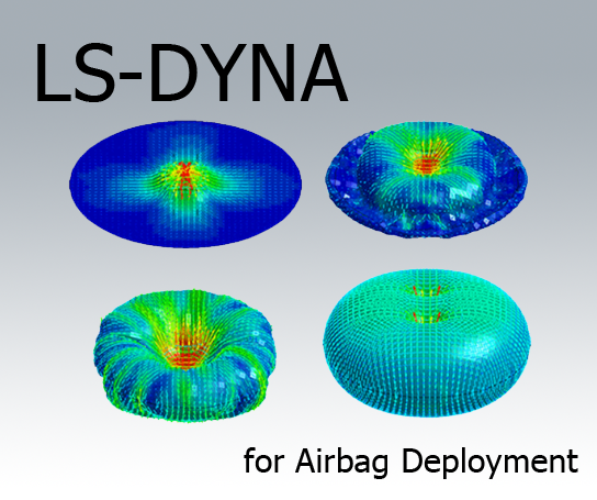 LS-DYNA for Airbag Deployment