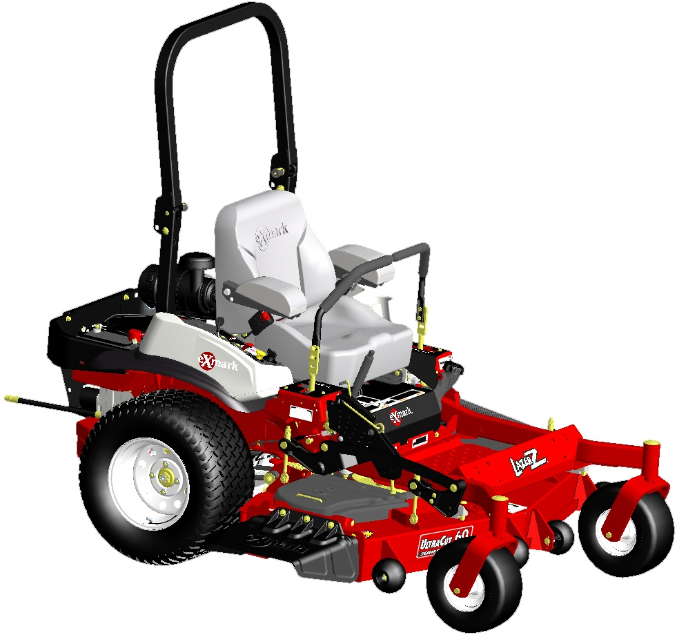 PTC Creo Mower Model