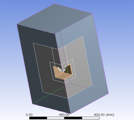 ANSYS Acoustics Analysis - Speaker