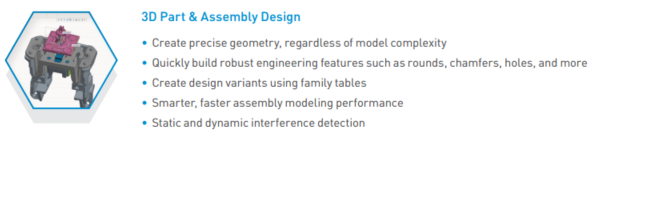 3D Part and Assembly Design