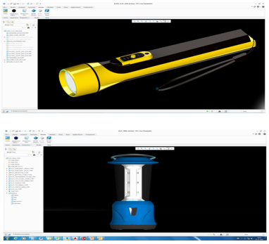 Eveready PTC Creo models