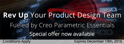 PTC Creo Essentials Special Offer - Mobile Slider Banner