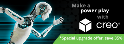 Upgrade Creo Essentials and save 35%