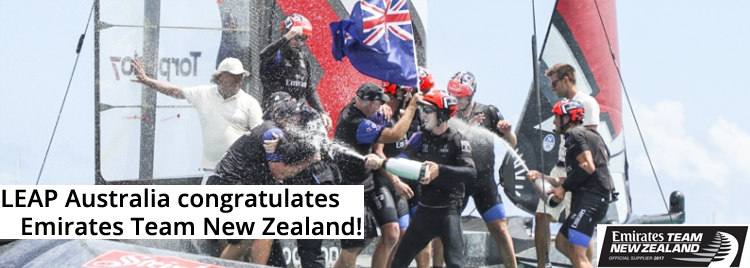 Congratulations to Emirates Team New Zealand from LEAP Australia