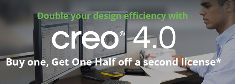Creo special offer get a second license free